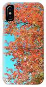 Maple Tree In Autumn IPhone X Case