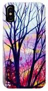 Maple Tree Sunset IPhone Case