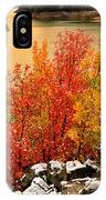 Maples Along The Palisades IPhone Case