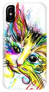 Marble The Cat IPhone Case