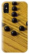 Marbles Arrow Blue 1 IPhone Case