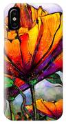 March Of The Poppies IPhone Case