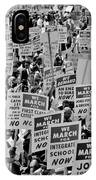 March On Washington IPhone Case