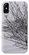 March Snowfall IPhone Case