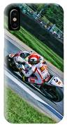 Marco Simoncelli Uphill IPhone Case