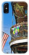 Mardi Gras Balcony IPhone Case