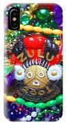 Mardi Gras Beads 1 IPhone Case