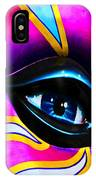 Mardi Gras Eye IPhone Case