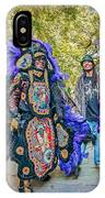 Mardi Gras Indian IPhone Case