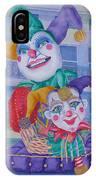 Mardi Gras Jesters IPhone Case