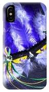 Mardi Gras On Purple IPhone Case