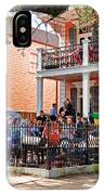 Mardi Gras Party On St Charles Ave New Orleans IPhone Case
