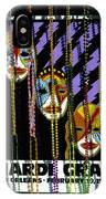 Mardi Gras Poster New Orleans IPhone Case