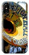 Mardi Gras Preservation Hall Photo Artistic IPhone Case