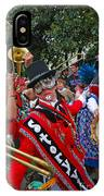 Mardi Gras Storyville Marching Group IPhone Case