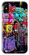 Mardi Gras Vendor's Cart IPhone Case