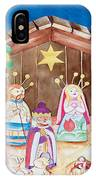 Maria Sofia And The Nativity IPhone Case