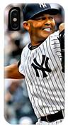 Mariano Rivera Painting IPhone Case