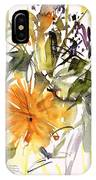 Marigold And Other Flowers IPhone Case