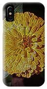 Marigold Digitized IPhone Case