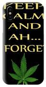 Marijuana 4 IPhone Case