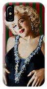 Marilyn 126 D Stripes IPhone Case