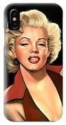 Marilyn Monroe 4 IPhone Case