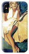 Marilyn Monroe Artwork 4 IPhone Case