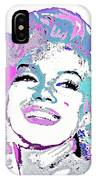 Marilyn Monroe I Want To Be Loved By You IPhone Case