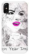 Marilyn Monroe Movie Poster IPhone Case