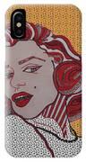 Marilyn Monroe Orange IPhone Case