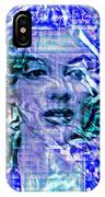 Marilyn Monroe Out Of The Blue IPhone Case