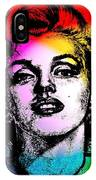 Marilyn Monroe Under Spotlights IPhone Case