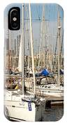 Marina At Port Vell Barcelona IPhone Case