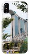 Marina Bay Sands Hotel 02 IPhone Case