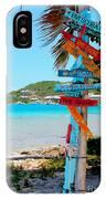 Marina Cay Sign IPhone Case