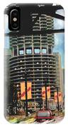 Marina Towers - Chicago IPhone Case