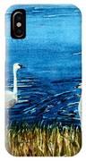 Marion Lake Swans IPhone Case