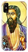 Mark The Evangelist Icon IPhone Case