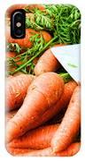 Market Carrots By Diana Sainz IPhone Case