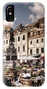 Market Day In The White City IPhone Case