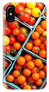 Market Fresh Tomatos IPhone Case
