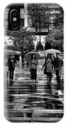Market Square In The Rain - Knoxville Tennessee IPhone Case