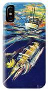 Marlin Catch IPhone Case