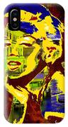 marlyn goes to Venice  IPhone Case