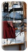 Maroon Sail  IPhone Case
