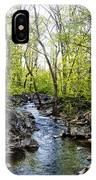 Marsh Creek In Spring IPhone Case