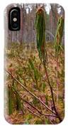 Marsh Labrador Tea After Winter IPhone Case
