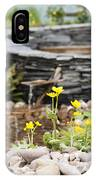 Marsh Marigolds IPhone Case