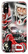 Martin Brodeur Collage IPhone Case